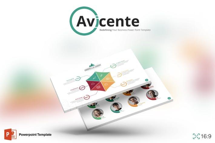 Avicente - Powerpoint Template