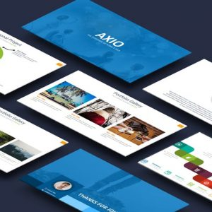 Axio Powerpoint Template