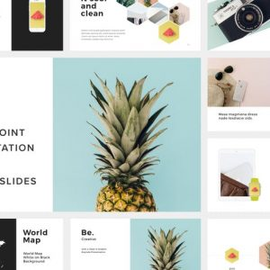 Be. Powerpoint Presentation Template