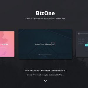 BizOne Creative Theme (Powerpoint)