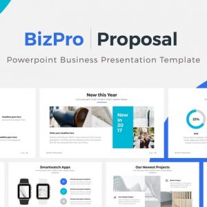 BizPro | Powerpoint Proposal Template Presentation