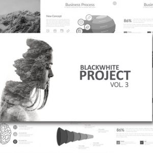 Black White Project Vol. 3 Powerpoint