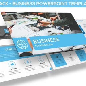 Bluestack - Powerpoint Template