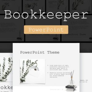 Bookkeeper PowerPoint Template
