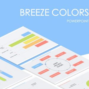 Breeze Colors PowerPoint Template