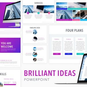 Brilliant Ideas PowerPoint Template