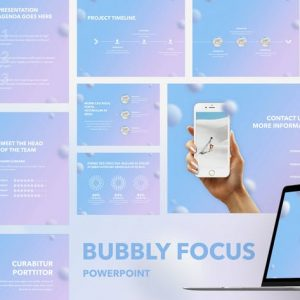 Bubbly Focus PowerPoint Template