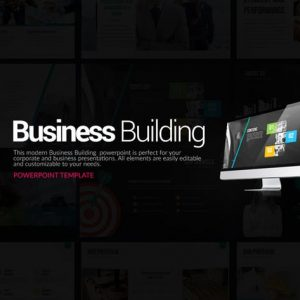 Business Building Powerpoint Presentation