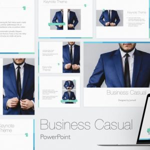 Business Casual Powerpoint Template