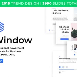 Business PowerPoint Template 2018