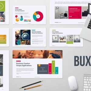 Buxe Creative & Multipurpose Template