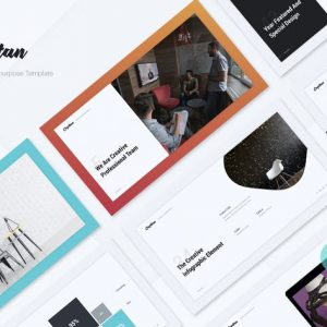 Capitan Minimal & Creative Presentation Template