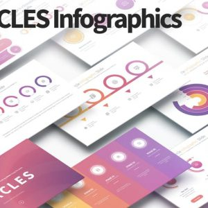 CIRCLES - PowerPoint Infographics Slides