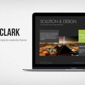 Clark Simply Template