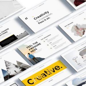 Cocoon - Creative Powerpoint Template