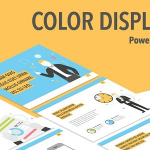 Color Display PowerPoint Template