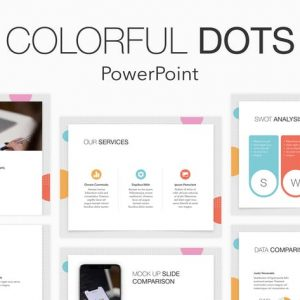 Colorful Dots PowerPoint Template
