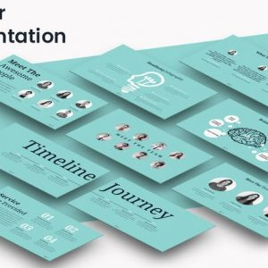 COLOUR - Powerpoint Presentation Template
