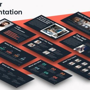 Corner - Powerpoint Template