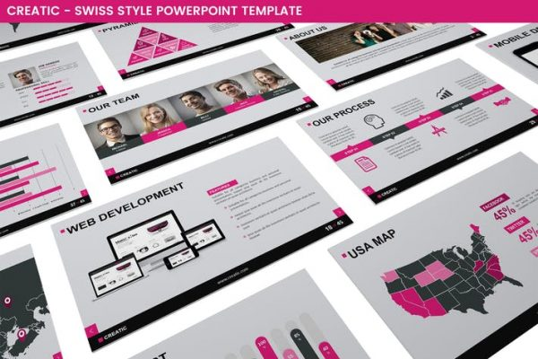 Creatic Powerpoint Template