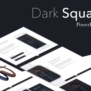 Dark Squad PowerPoint Template