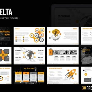 Delta PowerPoint Template