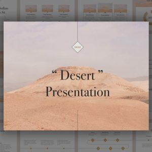 Desert PowerPoint Tempate