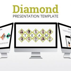Diamond - Powerpoint Presentation Template