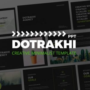 Dotrakhi - Creative Minimal Powerpoint Template