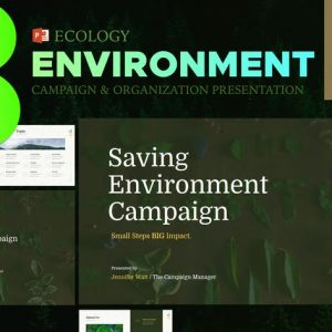 Eco Environment Presentation - PPT