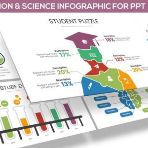 Education & Science Infographic for Powerpoint