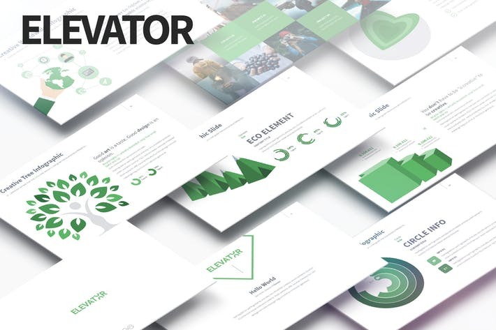 ELEVATOR - Multipurpose PowerPoint Presentation