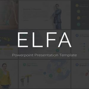 ELFA - Powerpoint Template