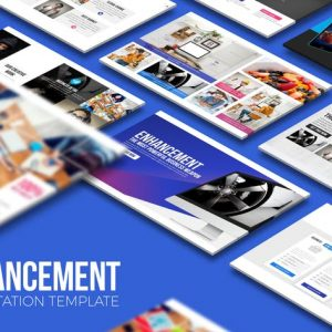 Enhancement PowerPoint Template
