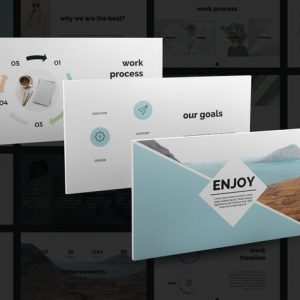 Enjoy PowerPoint Template