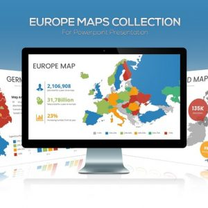 Europe Maps Collection for Powerpoint