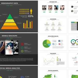 Excell PowerPoint Template