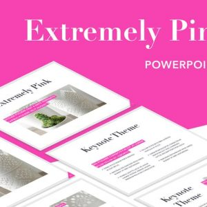 Extremely Pink Powerpoint Template