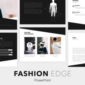 Fashion Edge PowerPoint Template