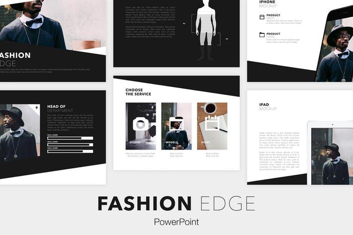 Fashion Edge PowerPoint Template
