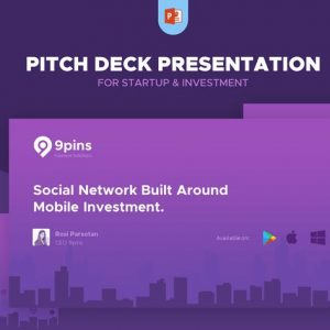 Fintech Startup Pitch Deck Presentation