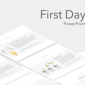 First Day PowerPoint Template