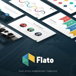 Flato - Flat Multipurpose Powerpoint Template