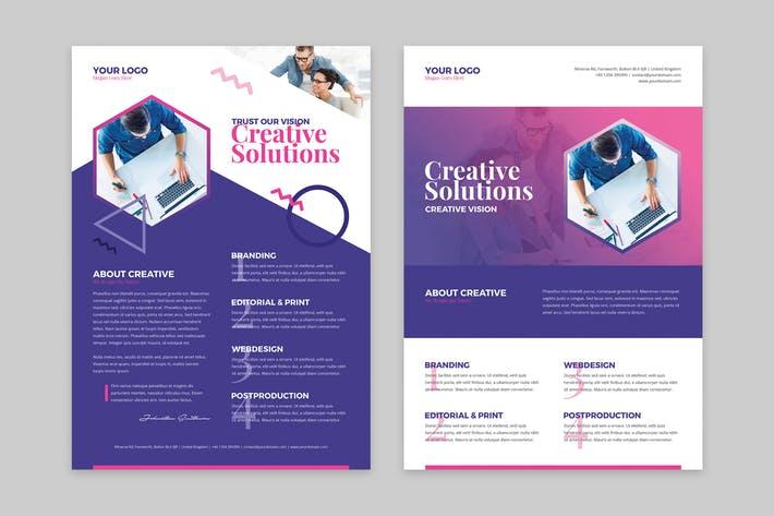 Flyer – Creative Agency