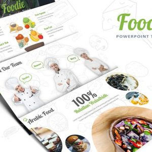 Foodie Powerpoint template