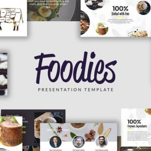 FOODIES - Culinary Powerpoint Template