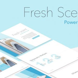 Fresh Scent PowerPoint Template