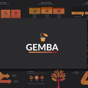 GEMBA Powerpoint Template