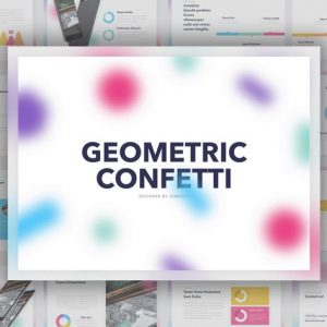 Geometric Confetti PowerPoint Template
