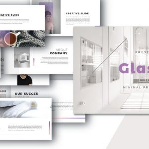 Glassy Powerpoint Template
